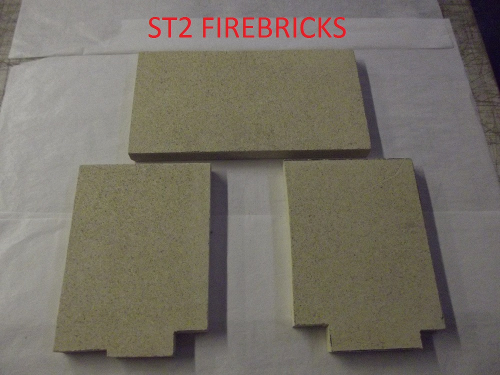 Wood Stove Fire Bricks 4 9 : St fire bricks woodburning stoves multifuel