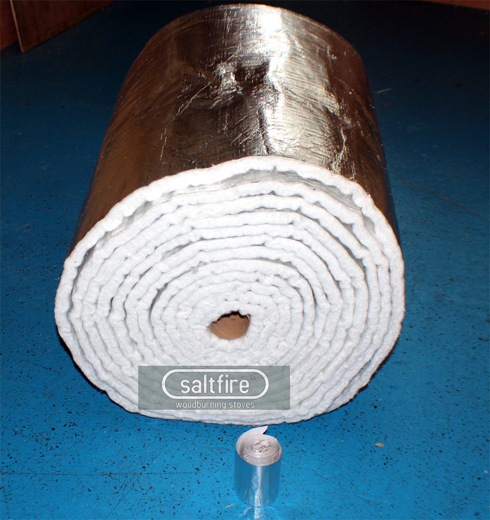 Flue Wrap Chimney Insulation Insulation Woodburning