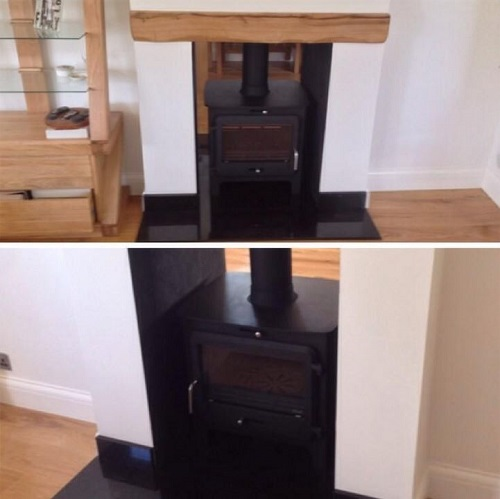 Ekol Double Sided Stove