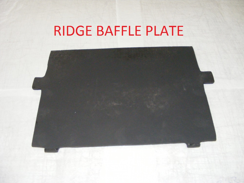 Ridge Baffle Plate Ridge Woodburning Stoves Multifuel