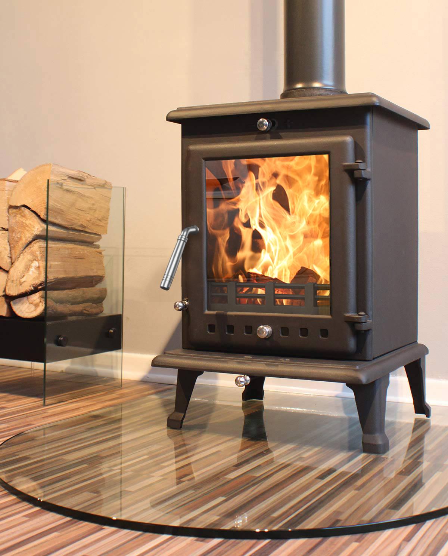 Ekol Crystal 8 Medium Multifuel Stoves Woodburning